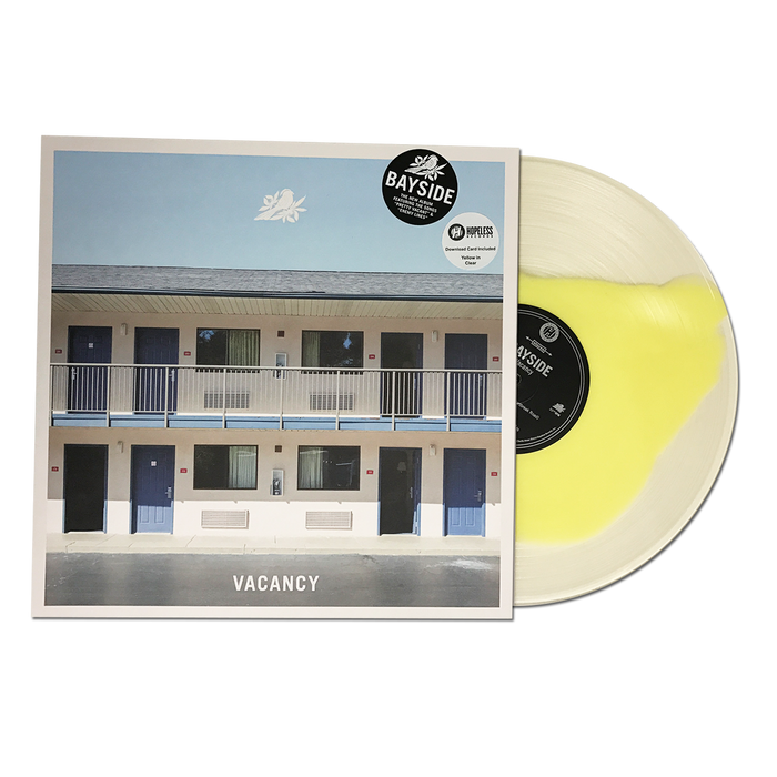 "Bayside Official Merch - Vacancy 12"" (Yellow In Clear)"