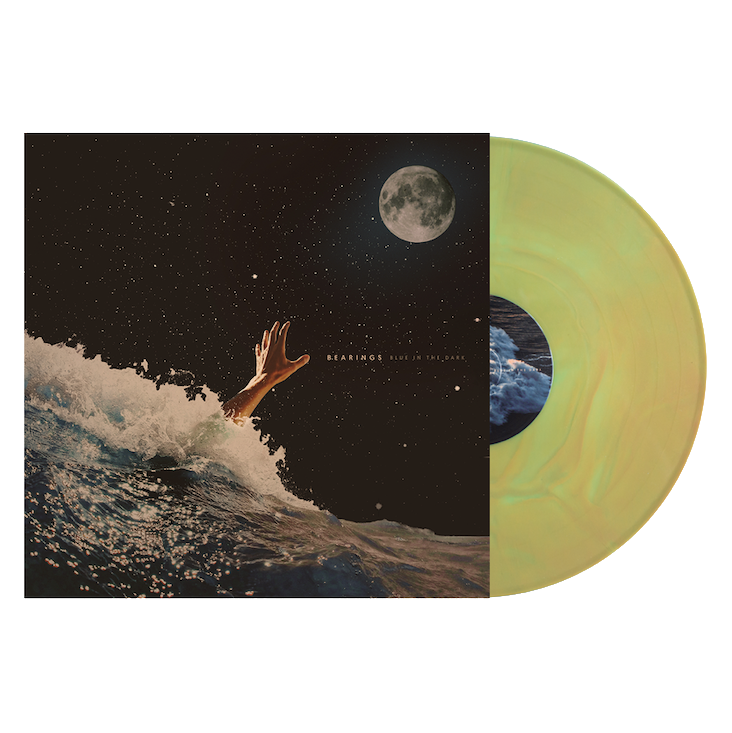 "Blue In The Dark 12"" Vinyl (Electric Blue/Gold Galaxy)"