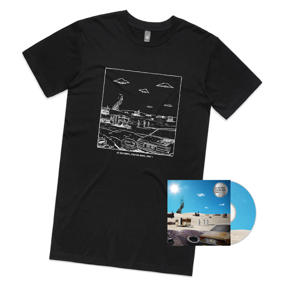 Positive Rising: Part 1 CD + Black Tee