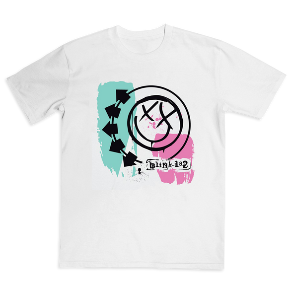 Self Titled Smiley Tee (White)