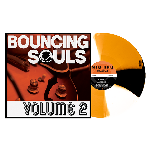 "Volume 2 12"" Vinyl (Orange Crush w/ Black & White Twist) // PREORDER"