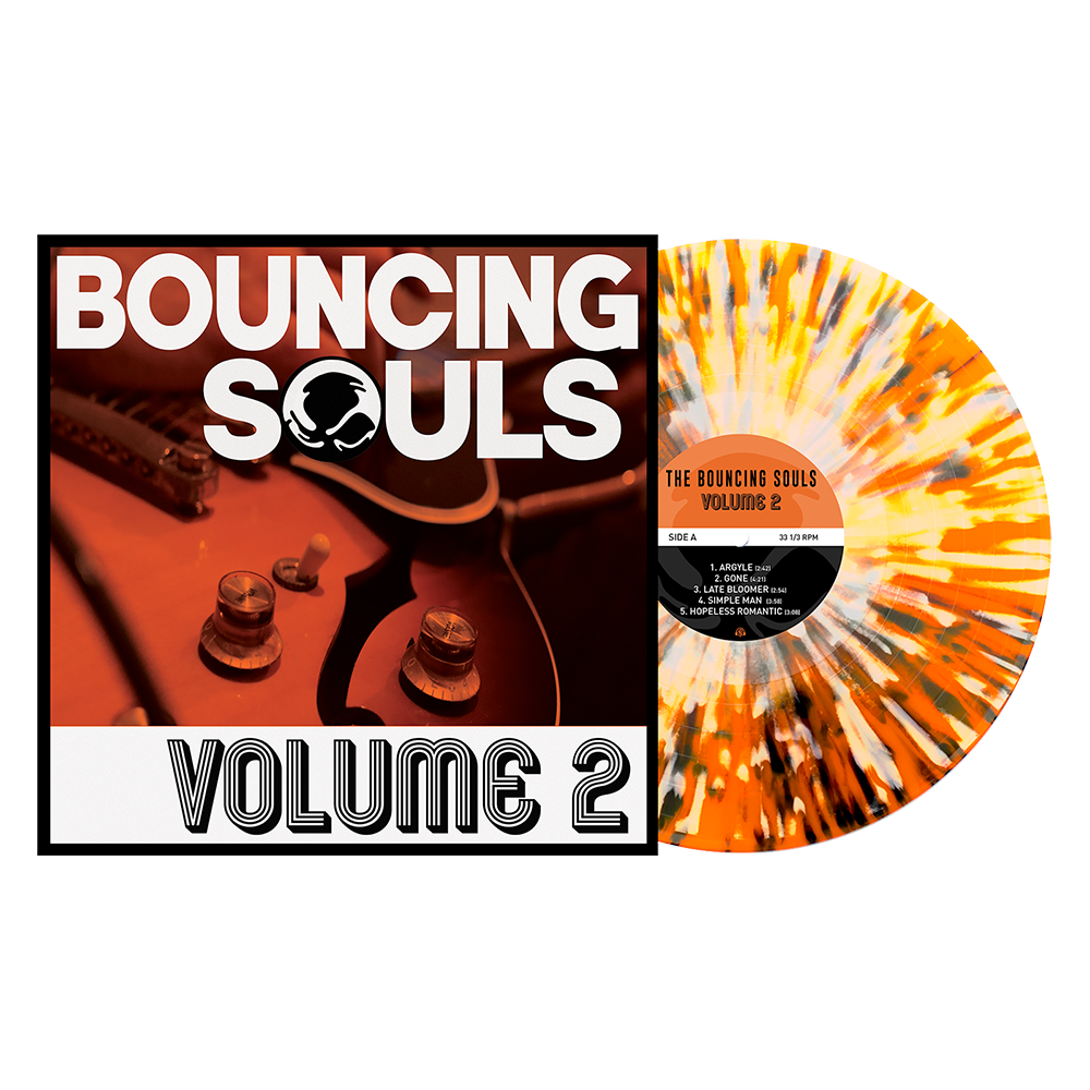 "Volume 2 12"" Vinyl (Orange Crush w/ Heavy Black & White Splatter)"