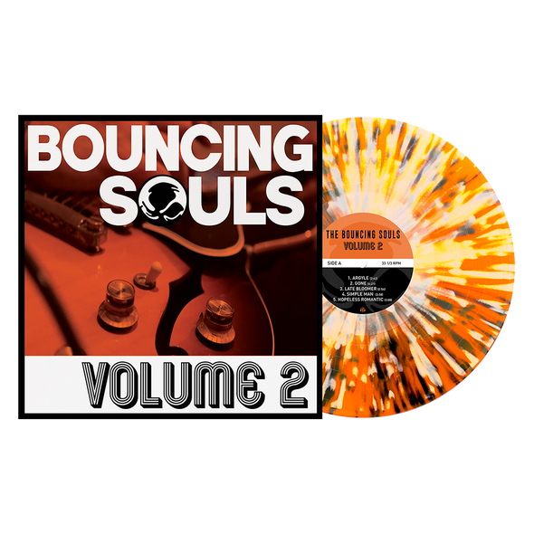 "Volume 2 12"" Vinyl (Orange Crush w/ Heavy Black & White Splatter) // PREORDER"