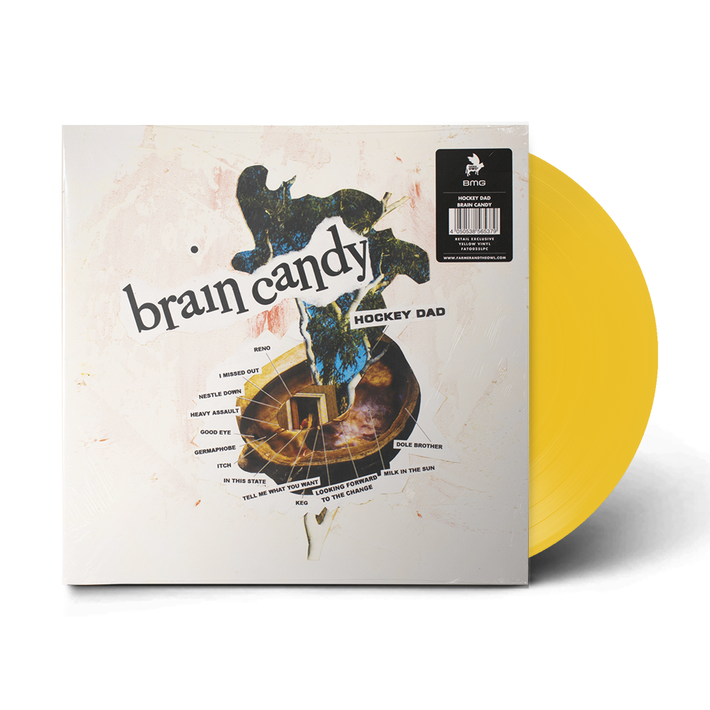 "Brain Candy 12"" Vinyl (Indie Exclusive Yellow)"