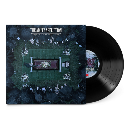 "The Amity Affliction Official Merch - This Could Be Heartbreak (Black 12"" Vinyl)"