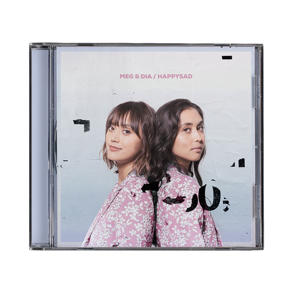 Meg & Dia // happysad CD