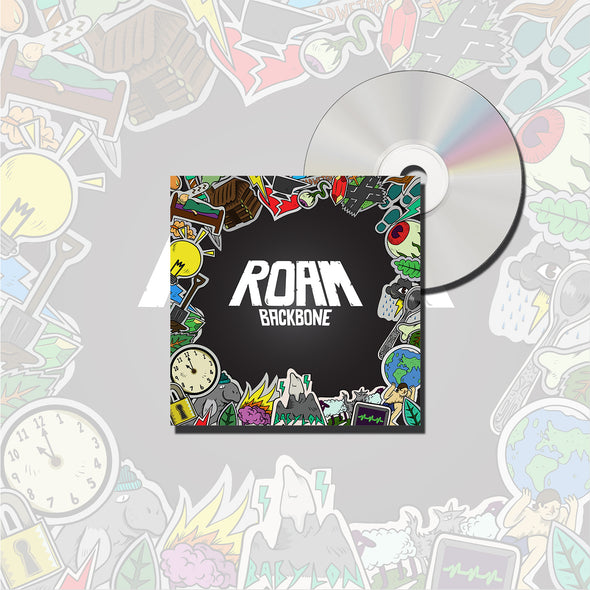 Roam Official Merch - Backbone (CD)