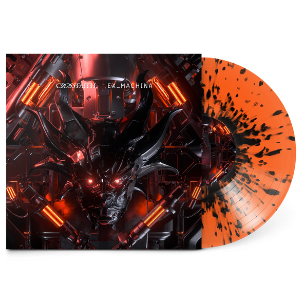 "EX_MACHINA 12"" Vinyl (Orange w/ Black Splatter)"