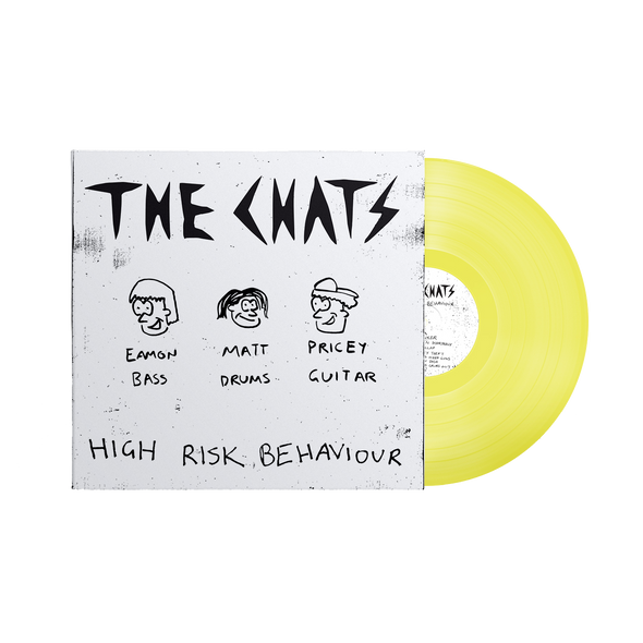 High Risk Behaviour LP (Piss Yellow) // PREORDER