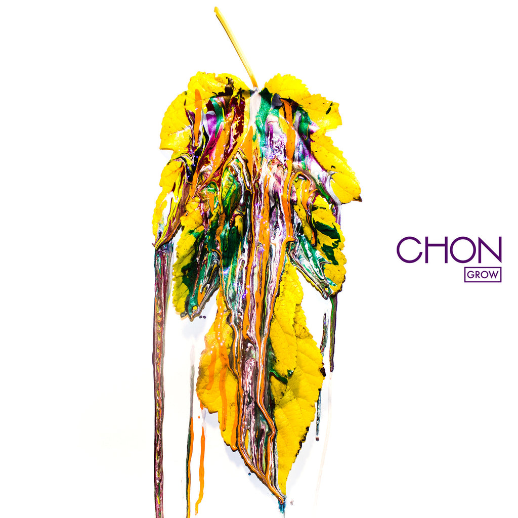 "Chon merch Grow (12"" Red/Blue Haze Vinyl)"