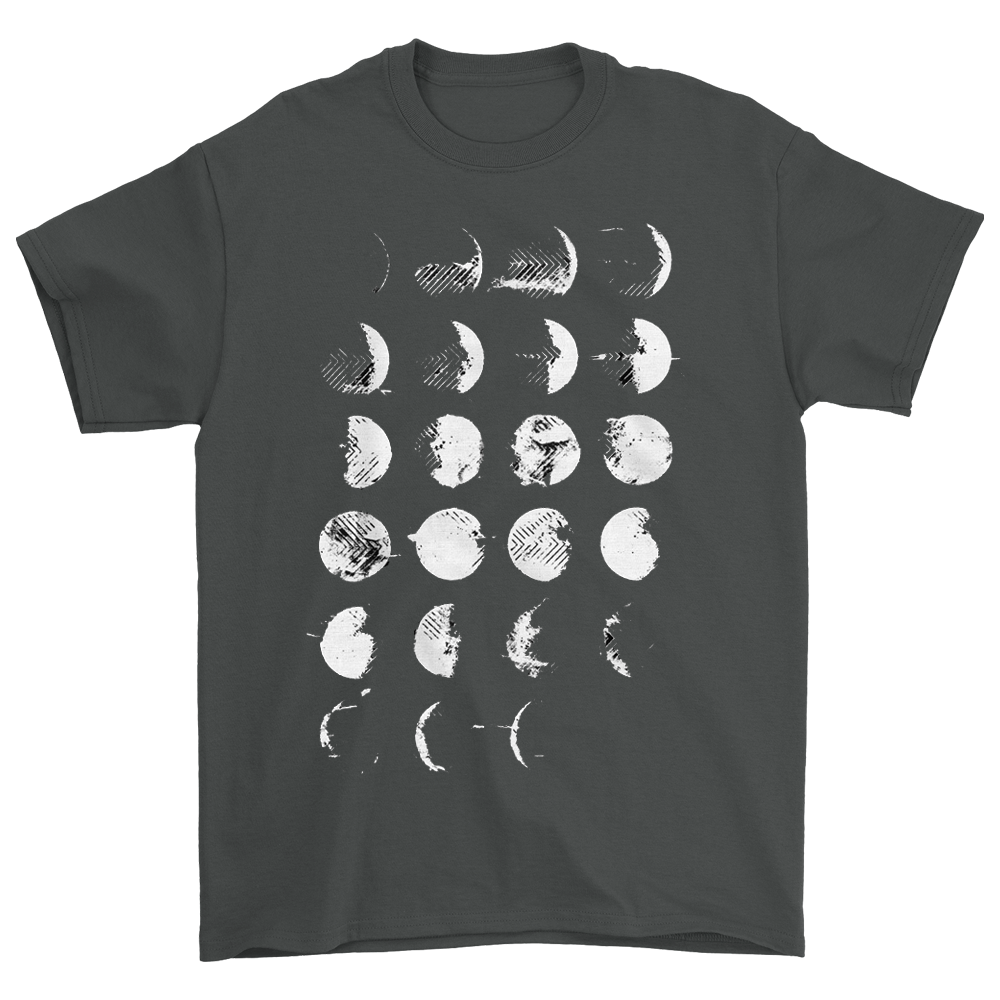 Moon Phases Tee (Graphite)