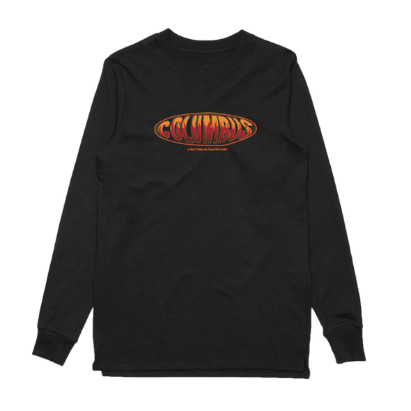 Flame Long Sleeve (Black)