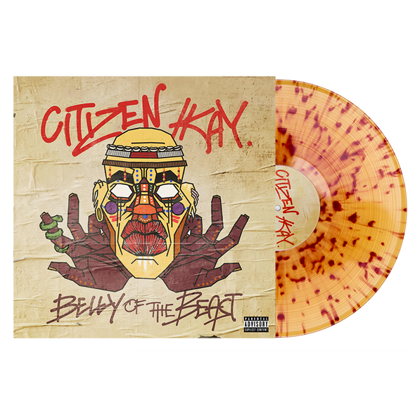 "Belly Of The Beast 12"" Vinyl (Beer w/ Cola Splatter)"