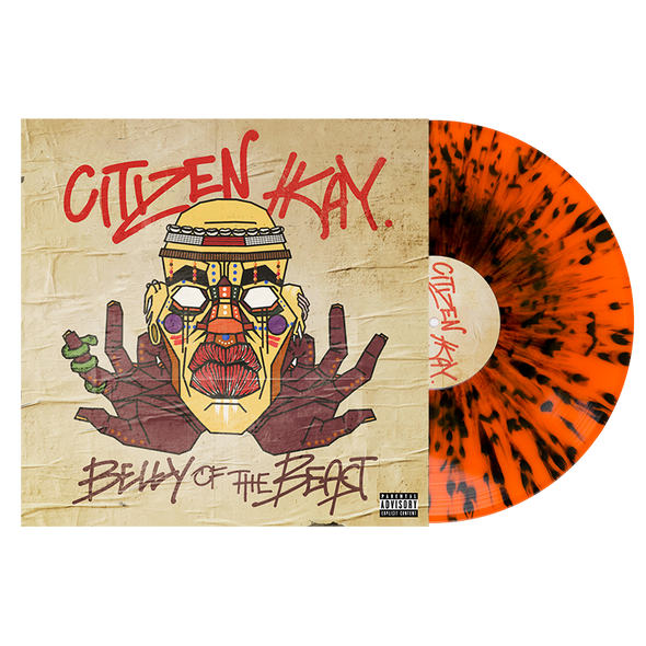 "Belly Of The Beast 12"" Vinyl (Orange w/ Black Splatter)"