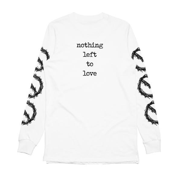 Nothing Left To Love Long Sleeve (White)