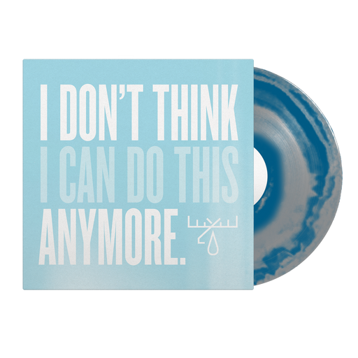 "I Don't Think I Can Do this Anymore 12"" Vinyl (Silver / Dark Blue Smash)"