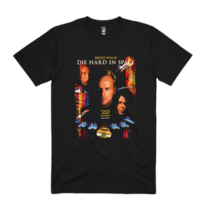 Die Hard In Space Tee (Black)