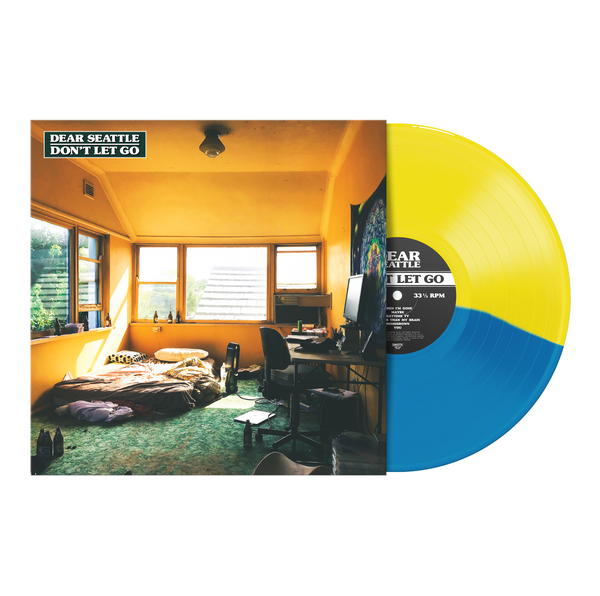 "Don't Let Go 12"" Vinyl (Half Transparent Yellow / Half Transparent Blue)"