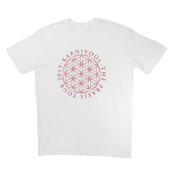 The Praxis Tour 2019 Tee (White)