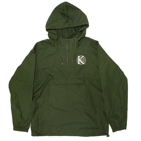 K Logo Windbreaker (Green)
