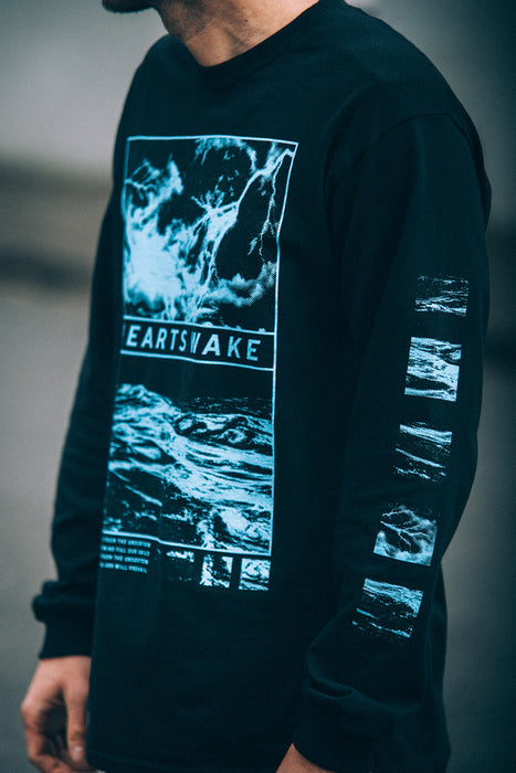 Waves Longsleeve (Black)