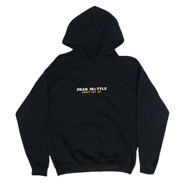 DS Embroidered Hoodie (Black)