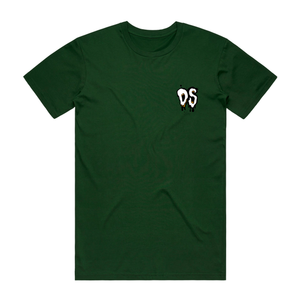 Melt Tee (Forest Green)