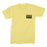 Deez Nuts merch Boombox Tee (Yellow)