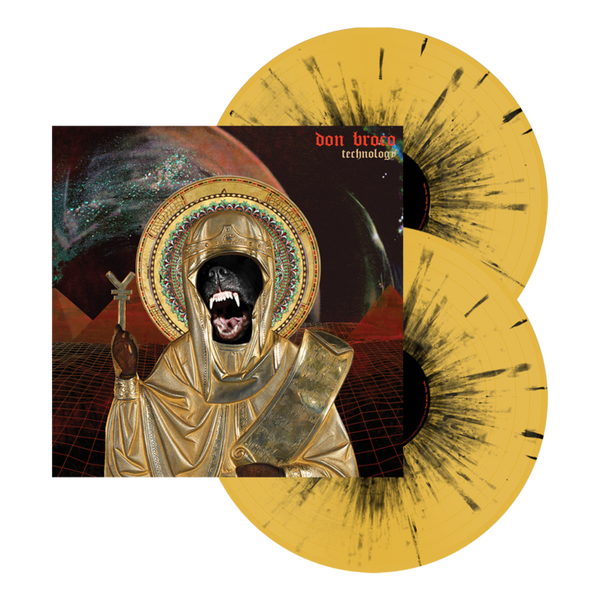 "Technology 12"" Vinyl (Mustard w/ Black Splatter)"