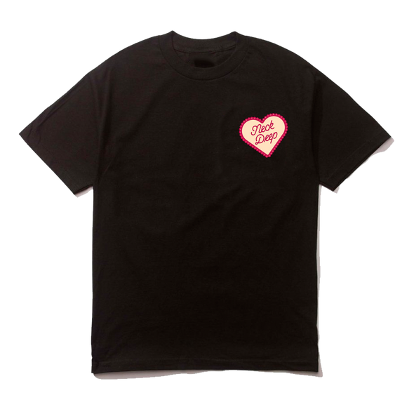 Candy Heart Tee (Black)