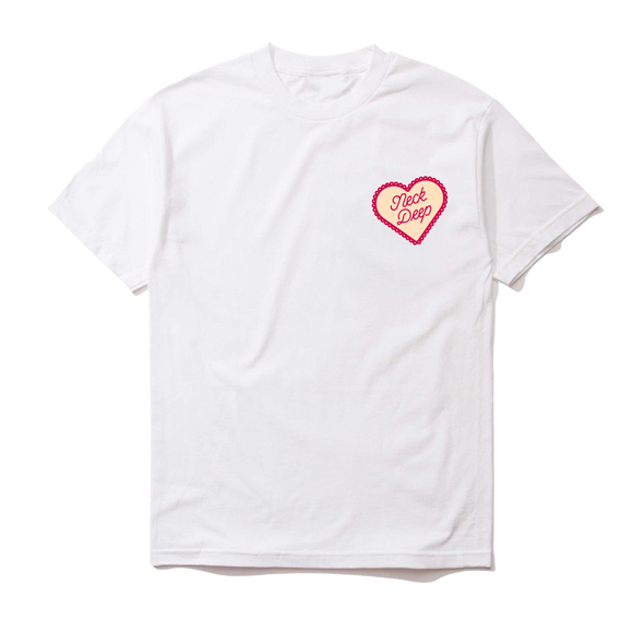 Candy Heart Tee (White)