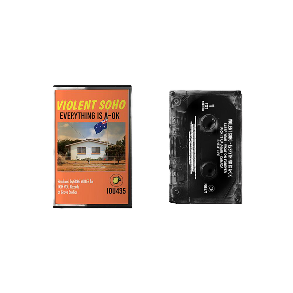 Everything Is A-OK Cassette // PREORDER