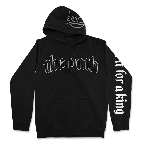 The Path Hoodie (Black)