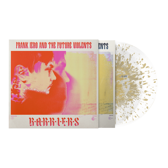 "Barriers 12"" Vinyl (24K Lush - Ultra Clear with Gold splatter) with Limited Edition O-Card"