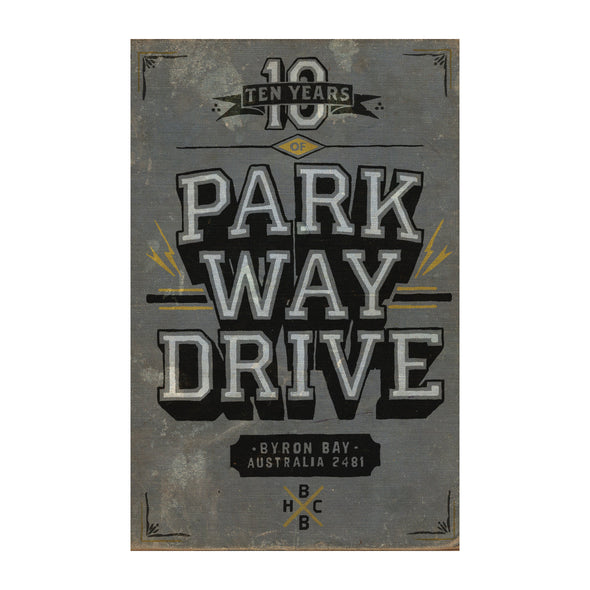 Ten Years Of Parkway Drive (Book)
