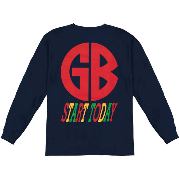 Start Today Longsleeve (Navy)