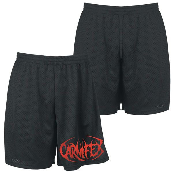 Carnifex Official Merch - Carnifex Logo (Mosh Shorts)