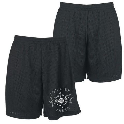 Counterparts Official Merch - Arrows Logo (Mosh Shorts)