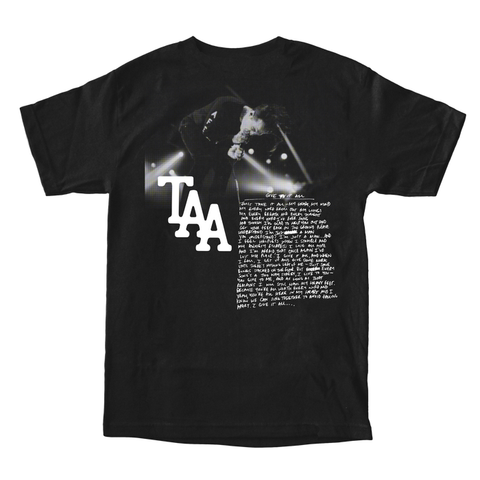 Give It All Tee (Black)