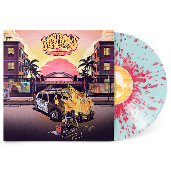 "Hellions merch Indian Summer 12"" Vinyl (Technicolour Yawn Vinyl)"