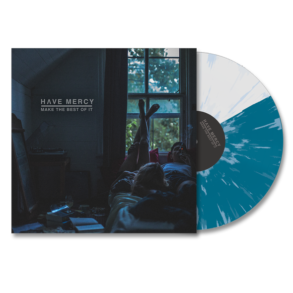 "Make The Best of It 12"" Vinyl (Turquoise + Clear Half/Half w/Blue Splatter)"