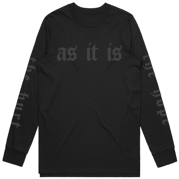 Hurt The Hope Longsleeve (Black)