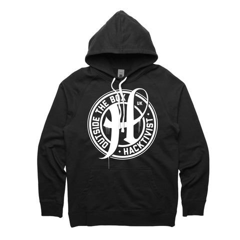 Hacktivist Official Merch - Stamp Hoodie (Black)