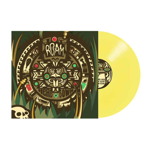"Roam Official Merch - Head Down (7"" Golden Yellow Vinyl)"