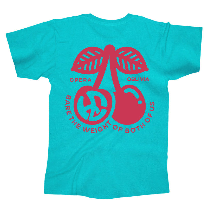 Bare The Weight Tee (Teal)