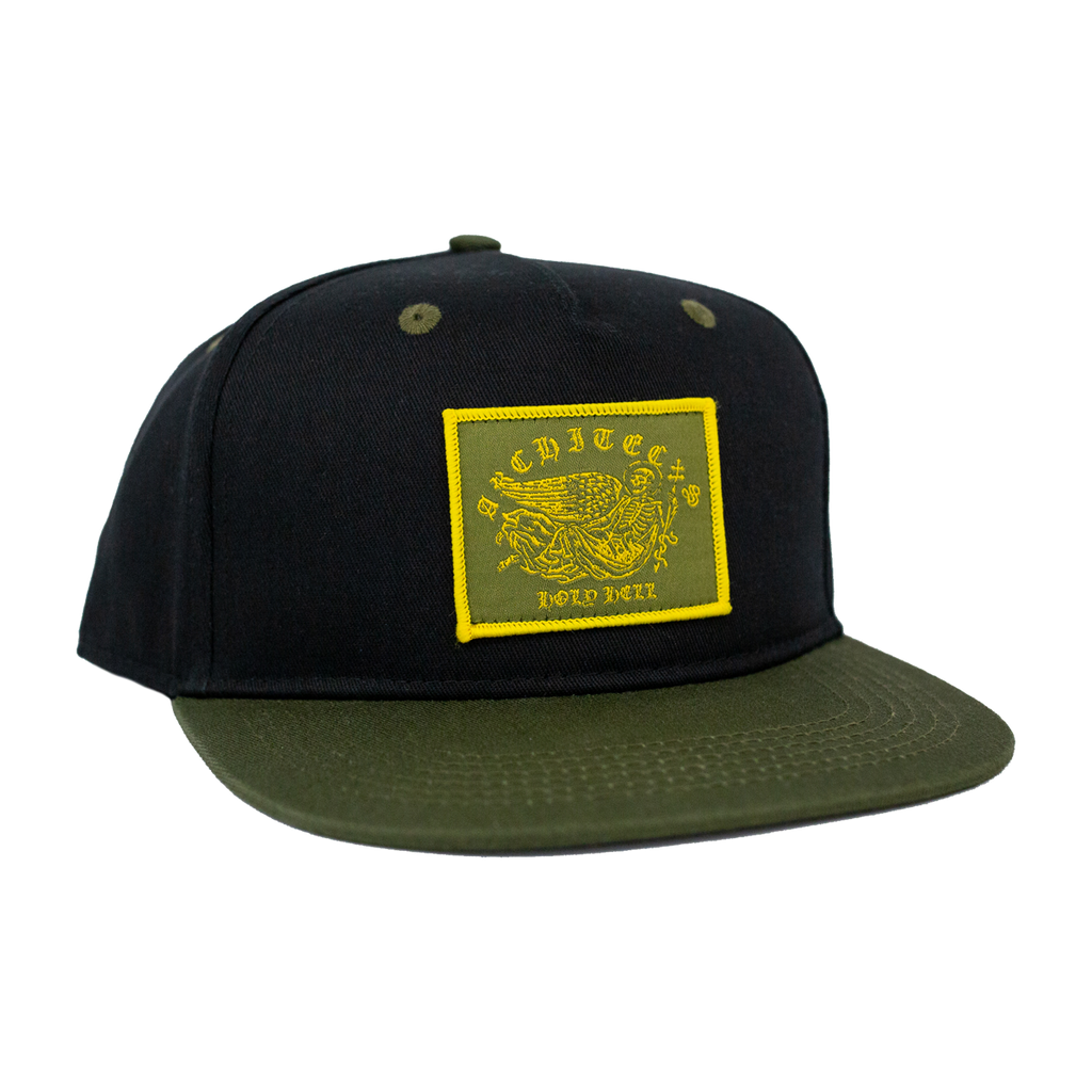 Holy Hell Snapback (Black/Green)