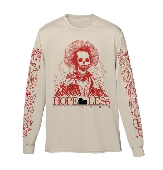 Marv Home Alone Long Sleeve (White) // Preorder