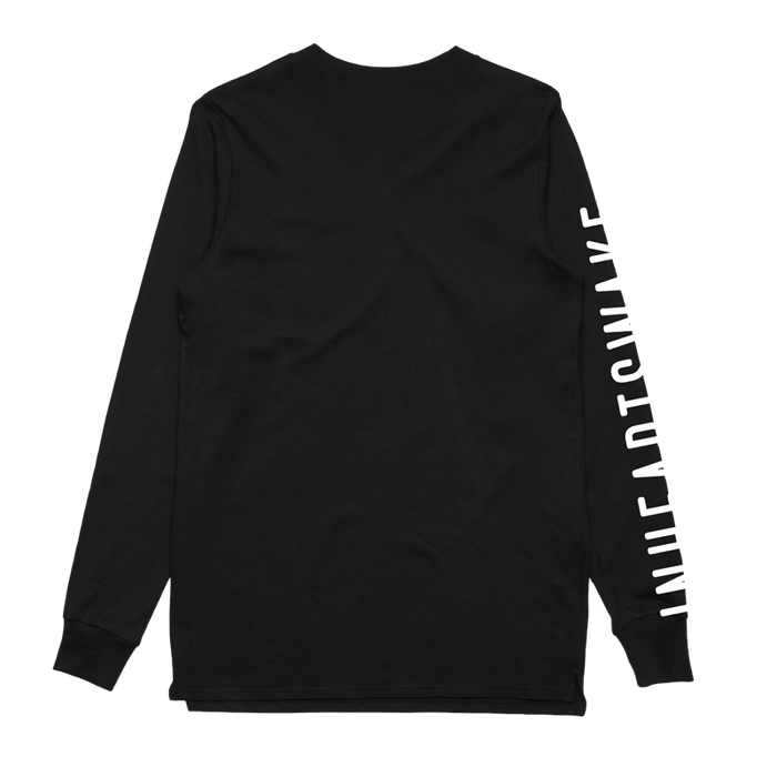 In Hearts Wake Official Merch - Wildflower Long Sleeve (Black)