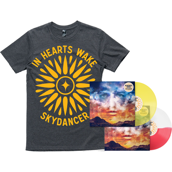 Skydancer Vinyl (Sunset & Sunflower) + Tee Bundle