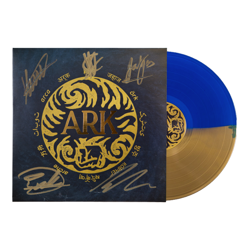 In Hearts Wake Official Merch - Ark Signed Vinyl (Half Gold/Half Blue)